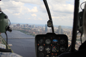 Helicopter Boston Flight